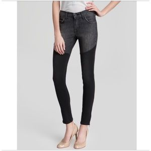 James Twiggy Thigh High Ankle ZIP Jeans
